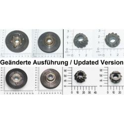 Conjunto de engrenagens para a rebarbadora RT-AG 230